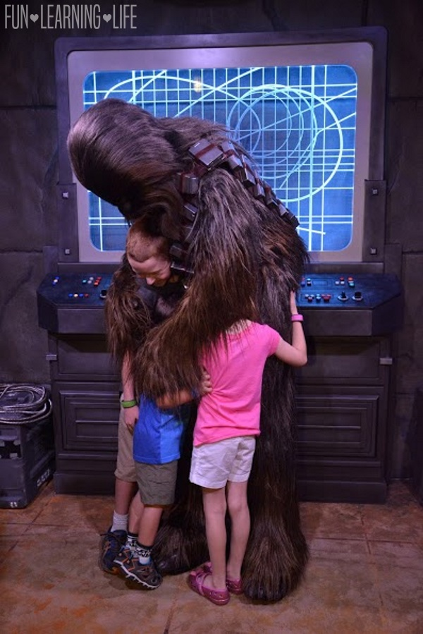 Chewbacca at Hollywood Studios