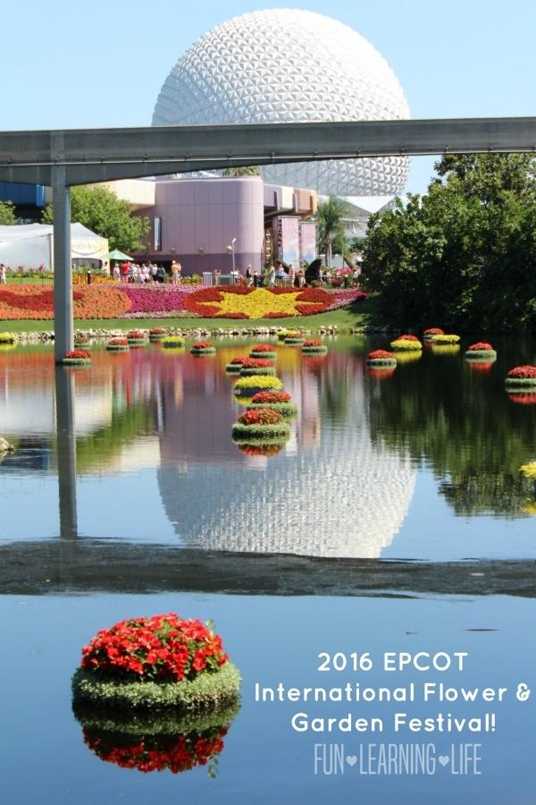 Epcot International Flower and Garden Festival 2016
