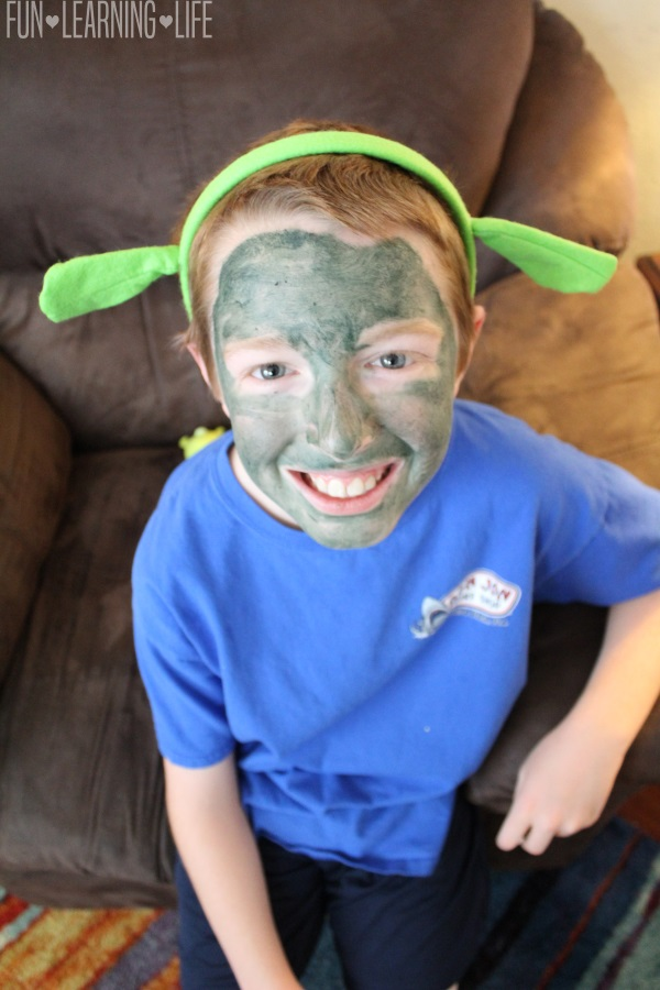 Ogre Face Paint
