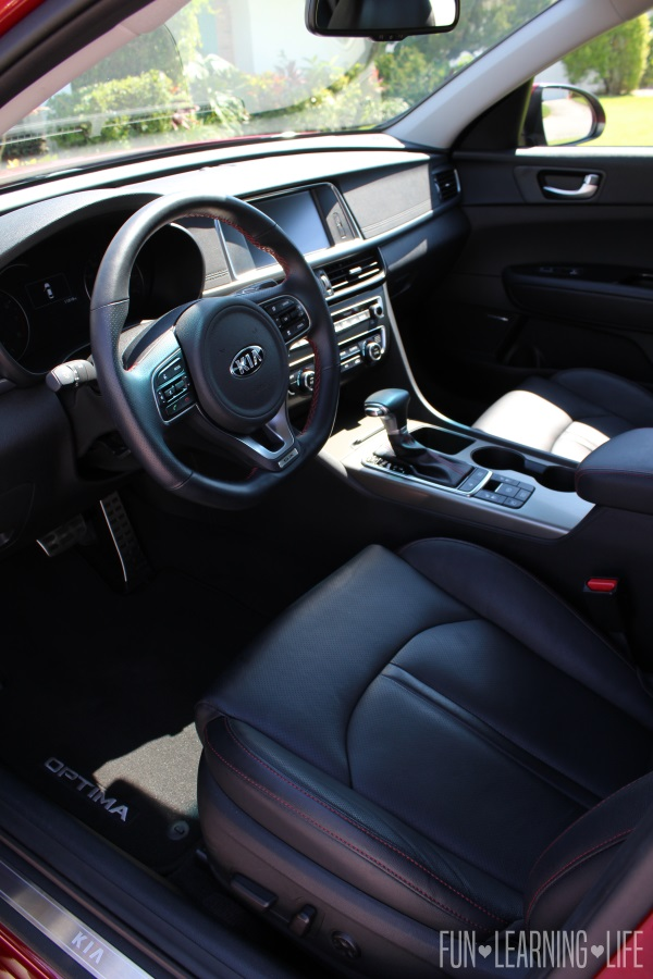 2016 Kia Optima SX Turbo Review Interior