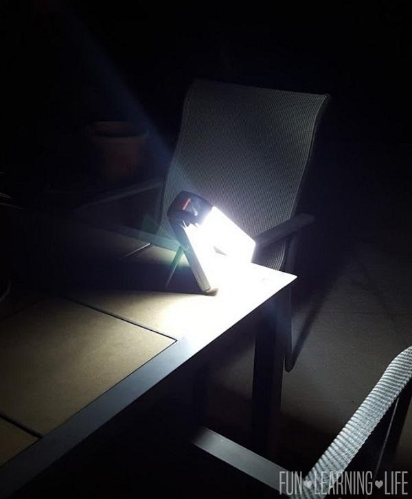 Energizer® Fusion LED Folding Lantern outside