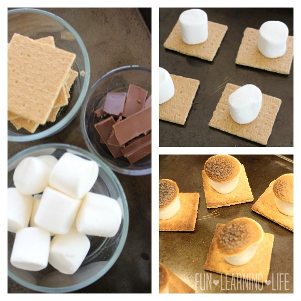 Oven S'mores Recipe Steps