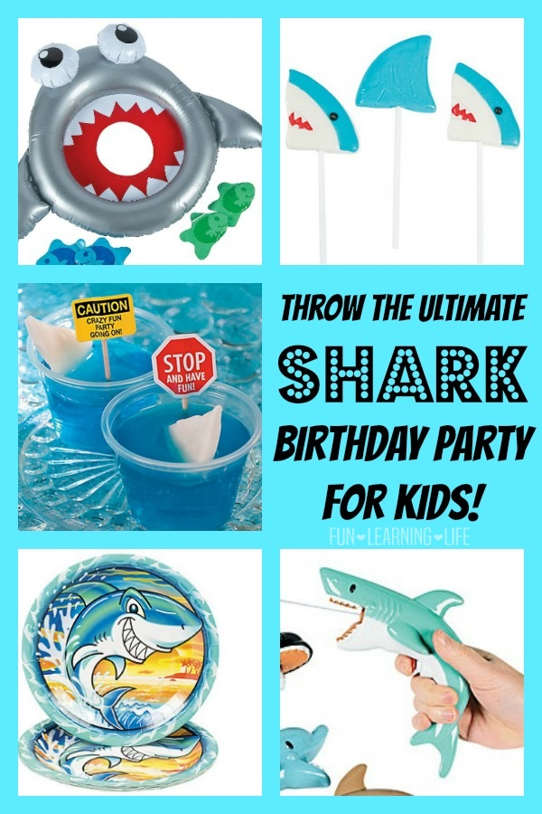 Shark Birthday Party for Kids