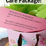 Back To School Care Package For Mom With Items From The Grocery Store!