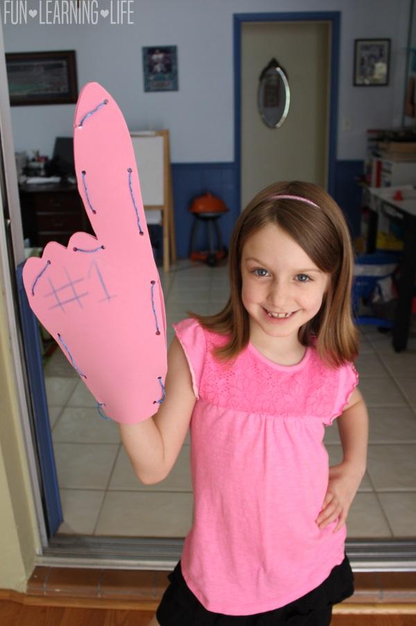 Foam Finger Craft
