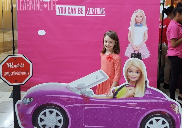Hanging out with Barbie in the Car