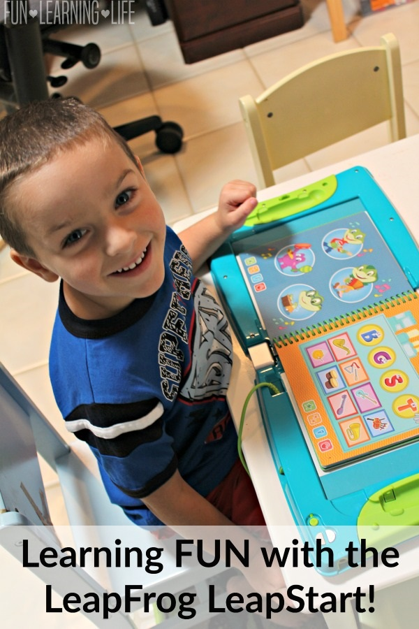 Learning FUN with the LeapFrog LeapStart