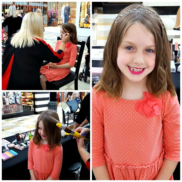Makeover at the Barbie Event