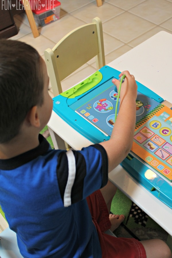 Using the Stylus in the LeapStart learning system