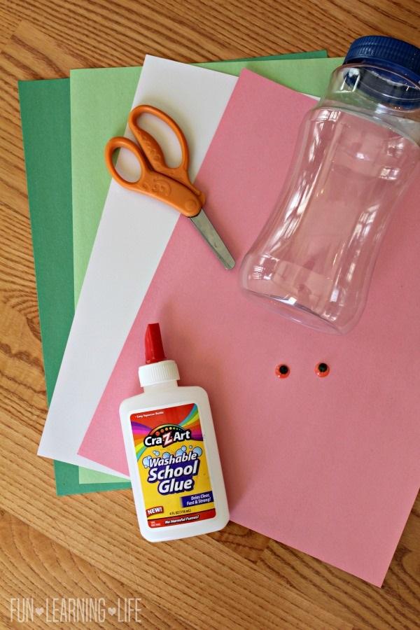 Dragon Crayon Holder Craft