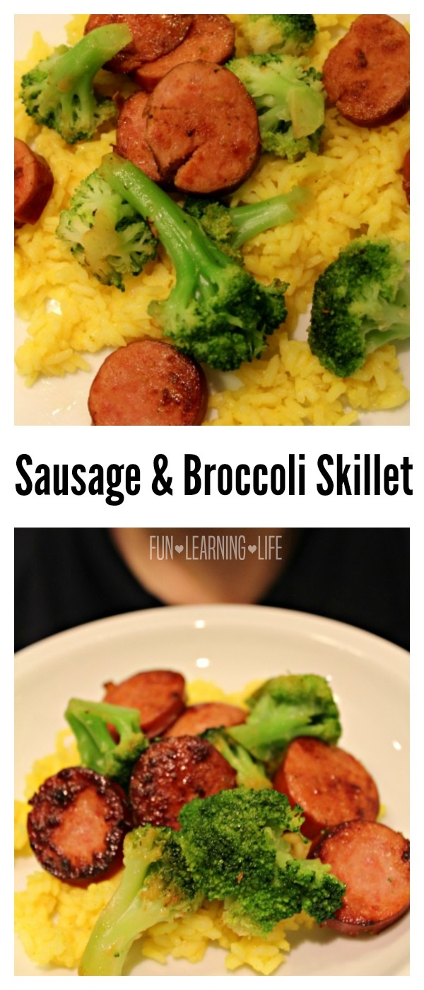 Sausage and Broccoli Skillet Recipe, Comfort Food for My Family!