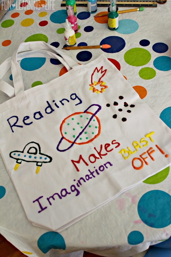 library-book-bag-craft-made-with-puffy-paint-for-kids