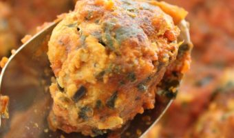 Turkey and Spinach Meatballs! A Recipe Encouraging Produce for Kids!