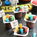 Mad Scientist Halloween Party Ideas Featuring Zombie Pudding and FREE Printables!