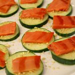 Smoked Salmon and Cucumber Recipe Inspired by Mary's Secret Ingredients Gluten Free Fall Box!