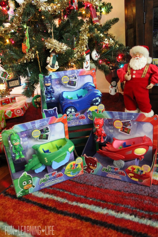 PJ Masks Vehicles from Just Play