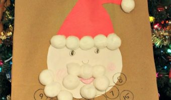 Santa Calendar Craft To Celebrate The Original Christmas Classics!