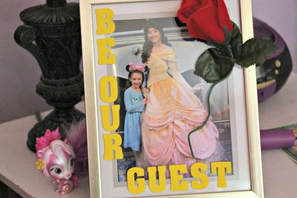 Beauty and the Beast Picture Frame Craft!