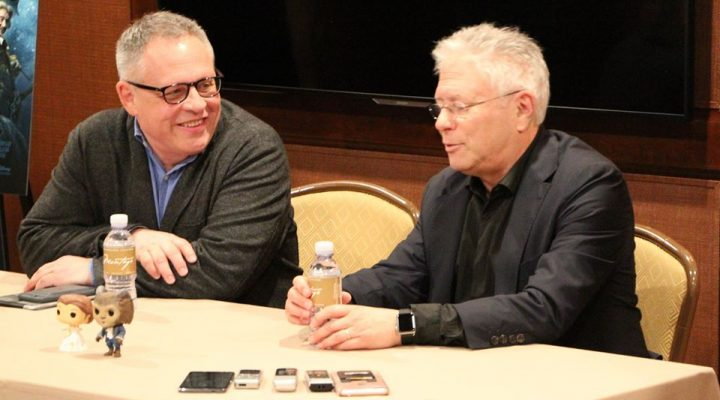 EXCLUSIVE INTERVIEW: Director Bill Condon and Alan Menken of Beauty and the Beast!
