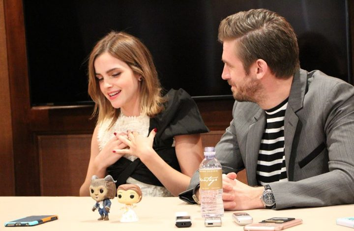 EXCLUSIVE INTERVIEW: Emma Watson and Dan Stevens of Beauty and the Beast!