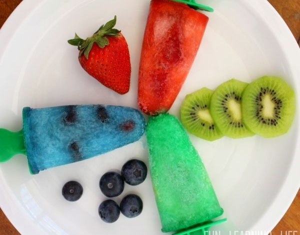 Fruit Freezer Pops Recipe Inspired by PJ Masks Party Decorations!