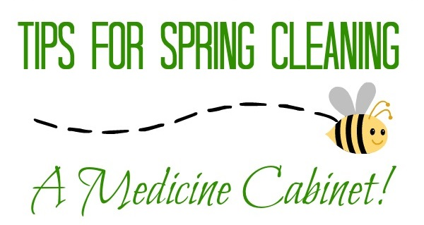 Tips For Spring Cleaning A Medicine Cabinet! {GIVEAWAY}