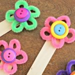 Flower Bookmark Craft, Colorful Way To Encourage Reading!