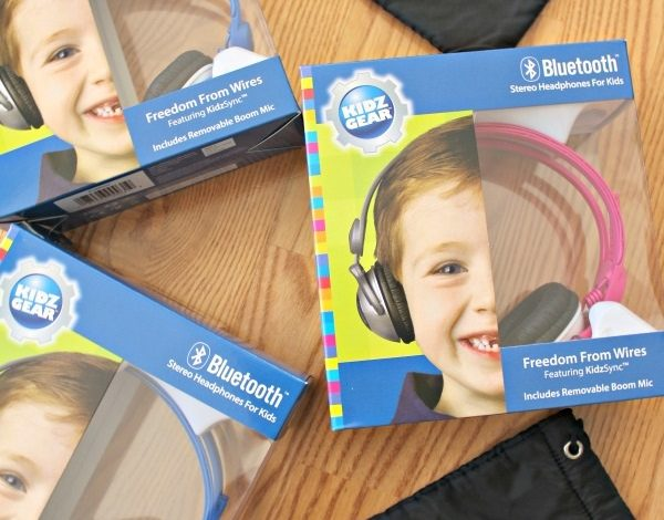 Kidz Gear Bluetooth Stereo Headphones for Kids Review!