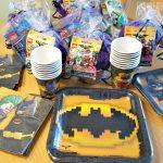 LEGO Batman Party Supplies and Goody Bag Idea!