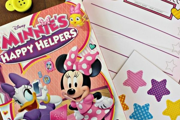 MINNIE'S HAPPY HELPERS DVD and Mouse Ears Button Magnets! {GIVEAWAY}