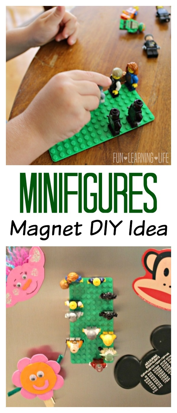 Minifigures Magnet Idea