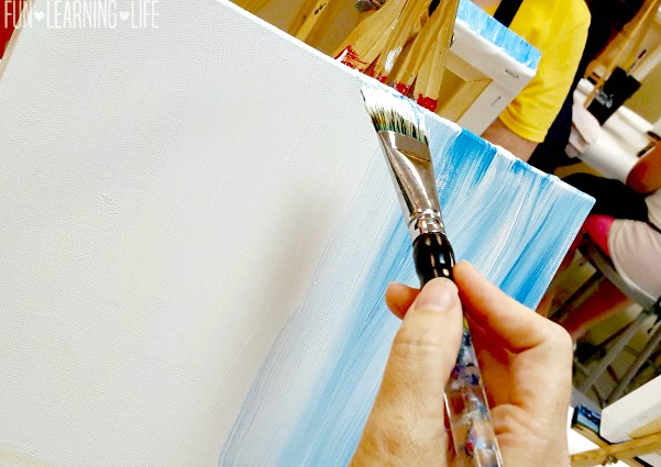 Painting With A Twist Is A Great Mom's Night Out Idea!