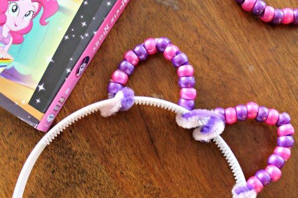 Pony Ears Headband Craft and My Little Pony Equestria Girls Magical Movie Night DVD!