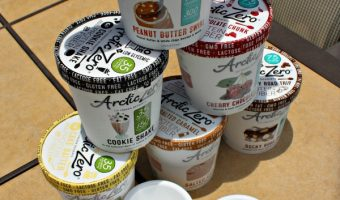 ARCTIC ZERO Fit Frozen Desserts Review! FYI, It Is Lactose FREE!