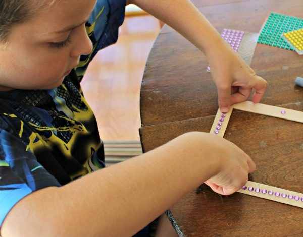 How To Make A First Day of School Photo Frame Magnet!