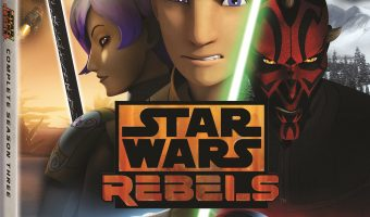 Star Wars Rebels: Complete Season Three Blu-ray!