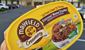 Finding Mayfield Creamery Extreme Moose Tracks Ice Cream at Publix!