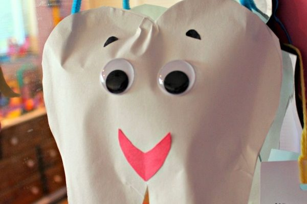 Happy Tooth Construction Paper Craft To Reinforce Healthy Habits!