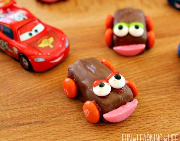 Candy Cars Craft To Celebrate Disney Pixar CARS 3 Out on Blu-Ray and DVD!