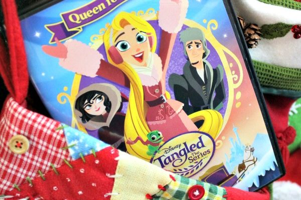 Royal Adventures in TANGLED THE SERIES QUEEN FOR A DAY DVD!