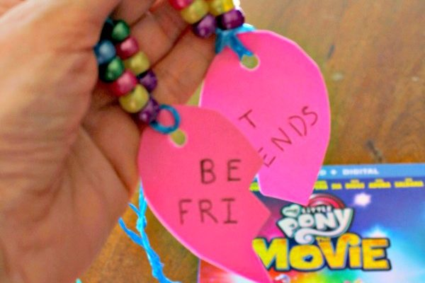 Friendship Necklaces Craft Inspired By My Little Pony The Movie Blu-Ray and DVD!