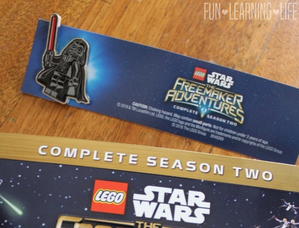 LEGO Star Wars: The Freemaker Adventures Season 2 DVD With Exclusive Darth Vader Pin! {Giveaway}
