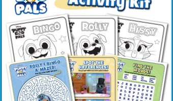 Disney Puppy Dog Pals DVD Now Available! Plus Bingo and Rolly Coloring Sheets! {Giveaway}