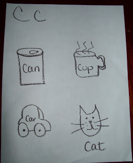 Learning The Letter C! Activities That You Can Do At Home With Your Children!
