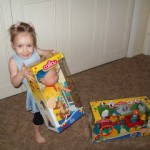 Review of Classic 14.5 inch Caillou Doll and Caillou Learning Train