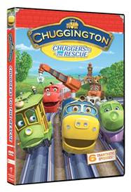 """Review and Giveaway of Chuggington DVD """"Chuggers to the Rescue"""""""