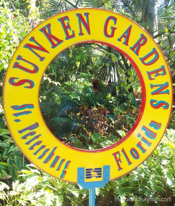 Sunken Gardens St. Petersburg Florida