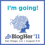 I'm Going to BlogHer'11! Thank You Retail Me Not!
