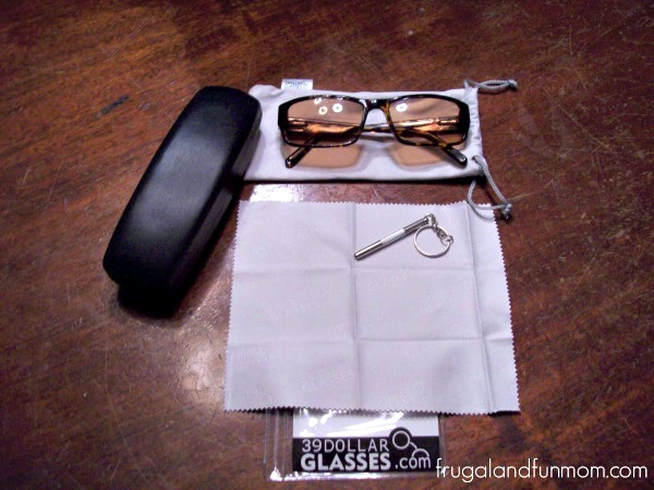 39 Dollar Glasses Sun Glasses package