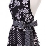 Flirty Aprons Single Layer Sassy Black Aprons Under $10! That is 72% off!